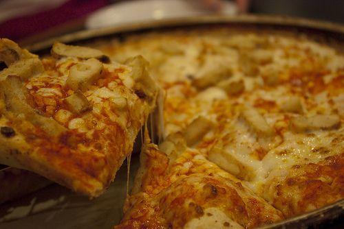 cuisiner les restes pizza