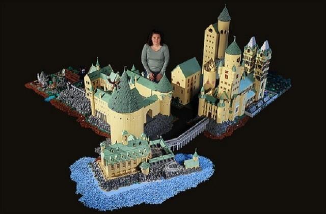 Poudlard (et le monde d'Harry Potter) recréé en LEGO