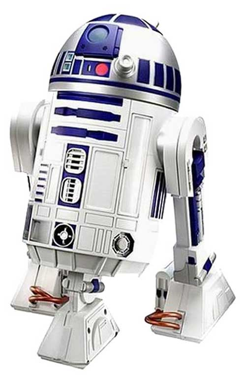 Get the look les personnages de star wars 2 - Robot blanc star wars ...