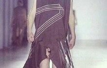 Les robes à chibres apparents de Rick Owens — WTF Mode