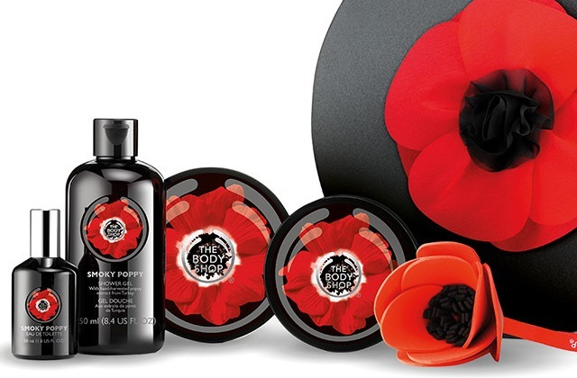 Smoky Poppy, la nouvelle collection de produits au pavot de The Body Shop