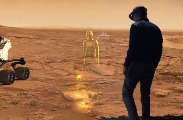 Grâce à Windows, les hologrammes arrivent dans la vraie vie