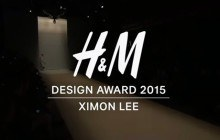 Ximon Lee, gagnant des H&M Design Awards 2015