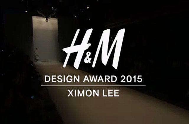 Ximon Lee, gagnant des H&M Design Awards 2015