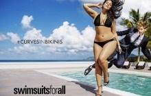 Ashley Graham est la première mannequin « plus size » à poser en maillot dans Sports Illustrated