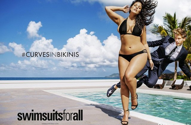 Ashley Graham est la première mannequin « plus size » à poser en maillot dans Sports Illustrated