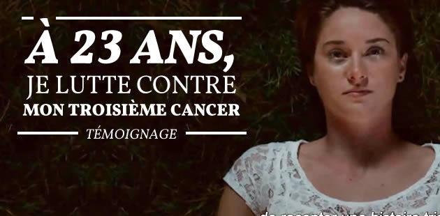 À 23 ans, je lutte contre mon troisième cancer — Témoignage