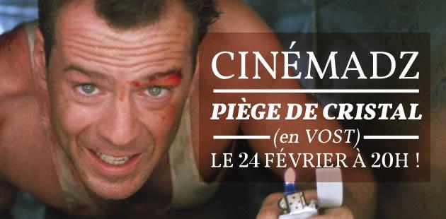 CinémadZ — Die Hard (Piège de Cristal) le 24 février au MK2 Bibliothèque