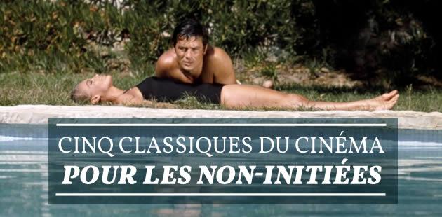 Cinq classiques du cinéma pour les non-initiées