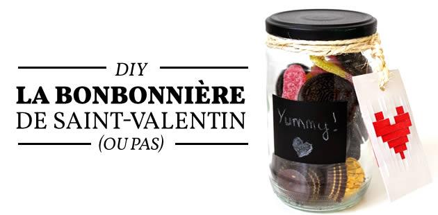 DIY — La bonbonnière de Saint-Valentin (ou pas)