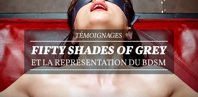 Fifty Shades of Grey et la représentation du BDSM — Témoignages
