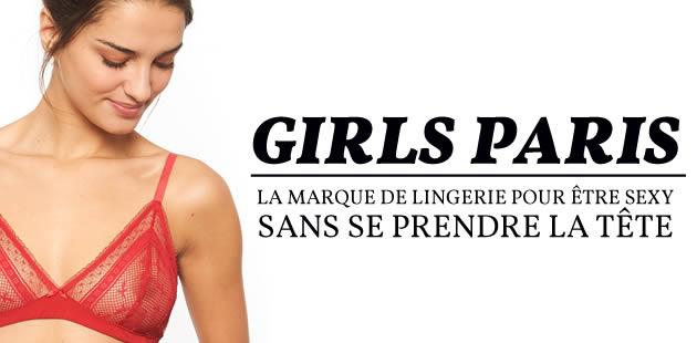 Girls Paris, la marque de lingerie pour être sexy sans se prendre la tête
