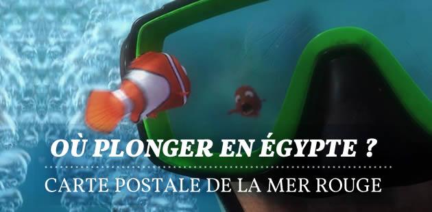 Où plonger en Égypte ? – Carte postale de la mer Rouge