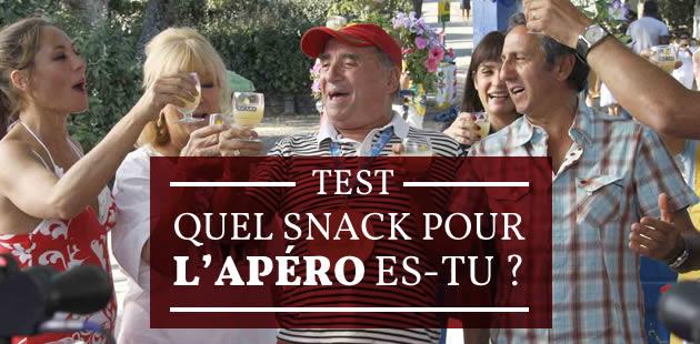 Test — Quel snack pour l'apéro es-tu ? (+ Recettes !)