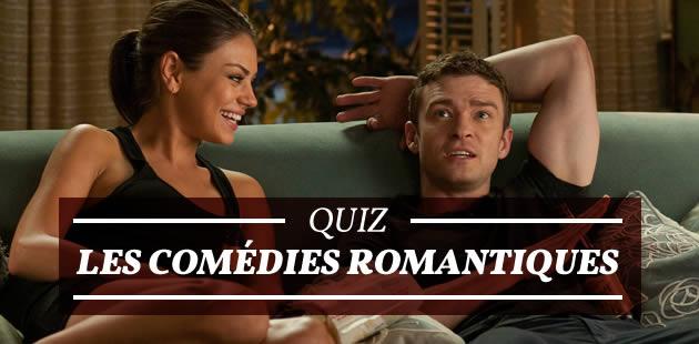 Quiz — Les comédies romantiques #2