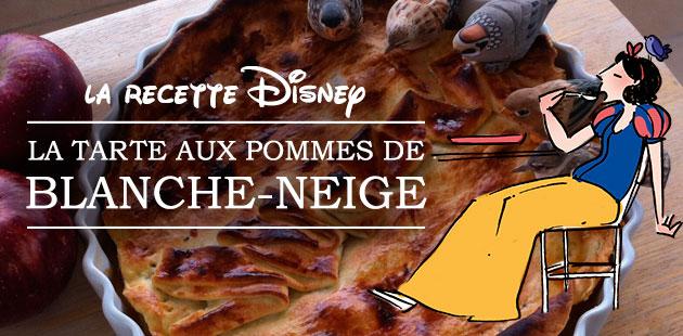 La tarte aux pommes de Blanche-Neige — Recette Disney