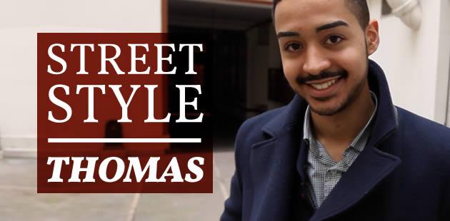 Street Style de Thomas, directeur artistique junior