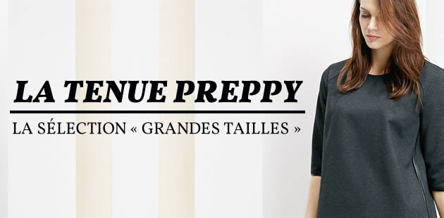 La tenue preppy — La sélection «grandes tailles»