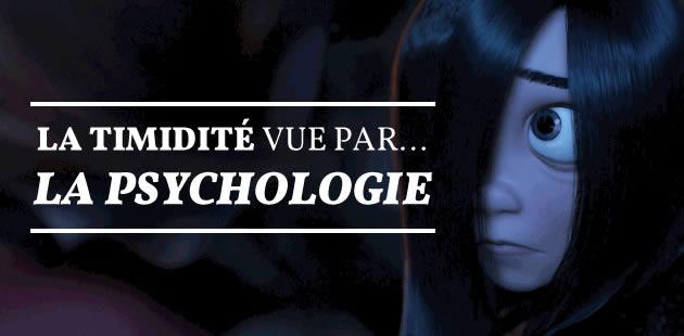 La timidité vue par… la psychologie