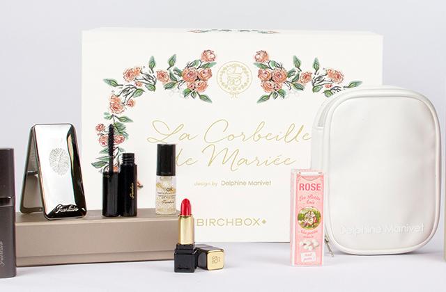 Birchbox et Delphine Manivet collaborent pour une box beauté destinée aux futures mariées