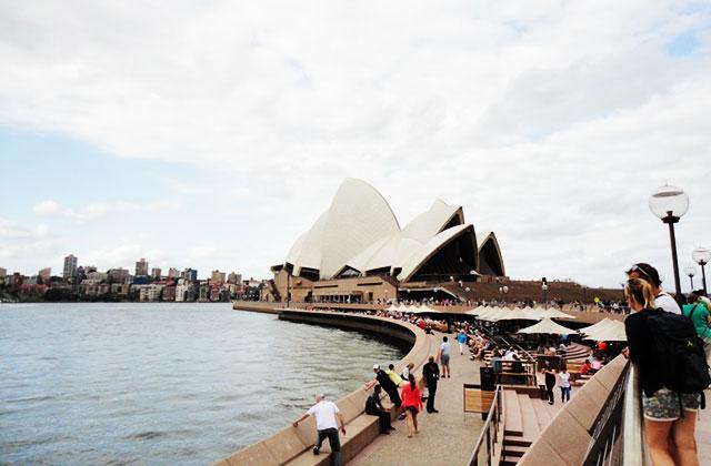 De Sydney aux Blue Mountains — Carte postale d'Australie