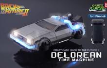 Une coque d'iPhone 6 en forme de la DeLorean de « Retour Vers le Futur » !