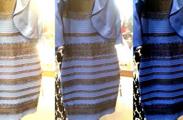 Cette robe est-elle bleue ou blanche ? La question qui rend dingo l'internet