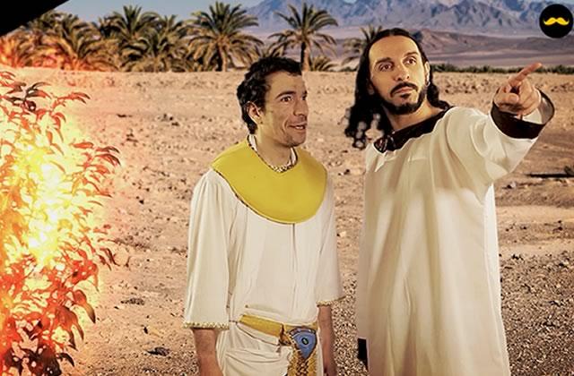« Exodus – Director's Cut », le sketch avec Dédo et Yacine Belhousse
