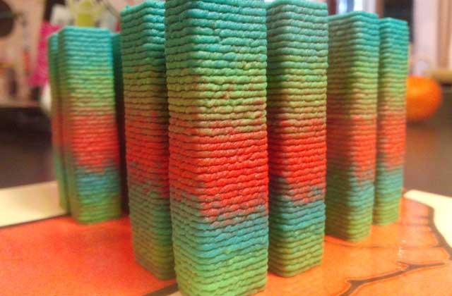 Du houmous bleu créé par une imprimante 3D — WTF Culinaire