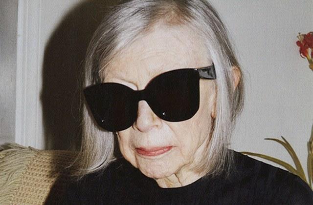 Joan Didion, 80 ans, est la nouvelle égérie de Céline