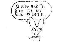 «Si Dieu existe», les dessins de Joann Sfar après l'attentat à Charlie Hebdo