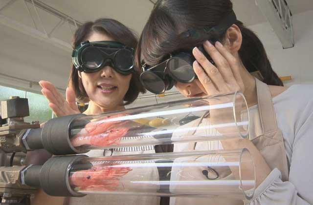 La machine pour faire des tempuras de crevettes en moins de 5 secondes