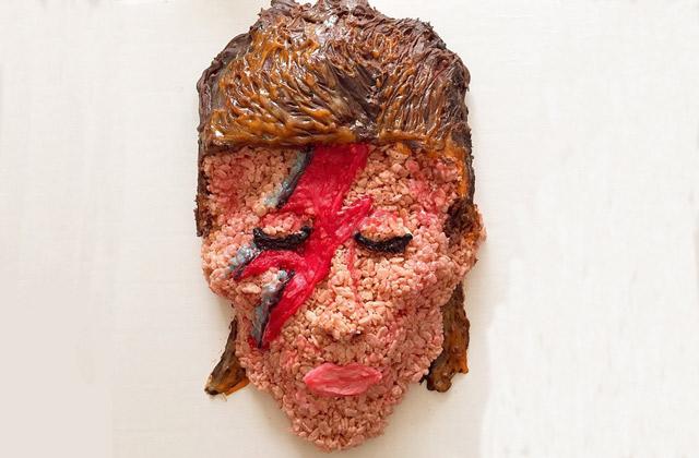 Mister Krisp et ses créations artistiques… en riz soufflé