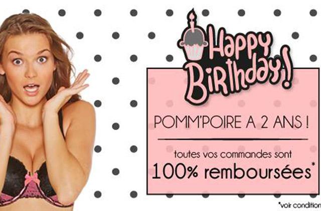 Pomm'Poire fête ses 2 ans et VOUS fait des cadeaux pour cette occasion !