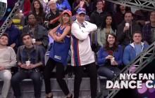 Taylor Swift et Jimmy Fallon dansent sur écran géant