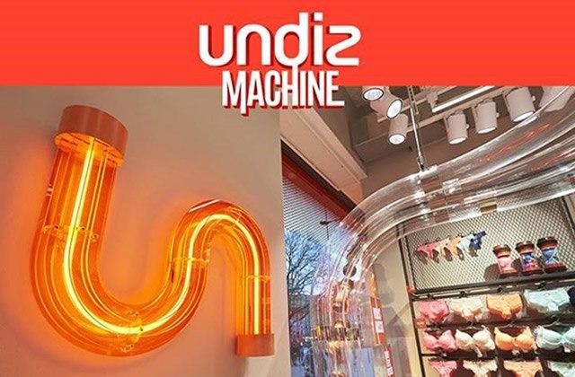 La «Undiz Machine» s'installe aujourd'hui à Paris !