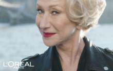 Helen Mirren, star d'une pub originale pour L'Oréal Paris