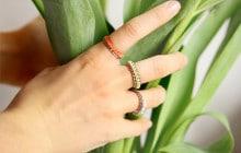 DIY — Des bagues-chaînes pour tes dix doigts