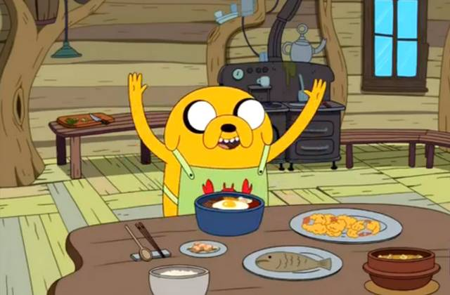 Les recettes d'Adventure Time