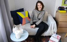 Dans l'appart… d'Agnès, styliste spécialisée dans les accessoires