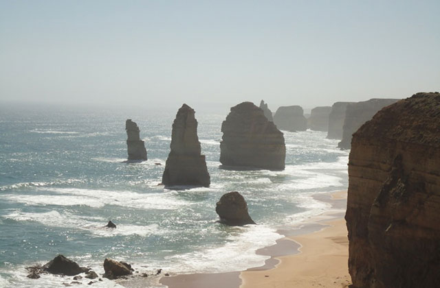 La Great Ocean Road, entre perroquets et paradis — Carte postale d'Australie