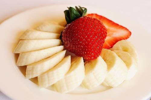 bananes fraises