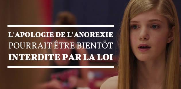 La lutte contre l'anorexie, toujours en débat dans la loi santé