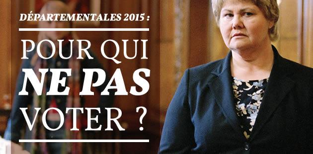 Départementales 2015 : pour qui NE PAS voter ?