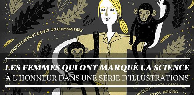 Les femmes qui ont marqué la science à l'honneur dans une série d'illustrations