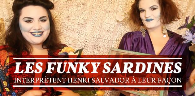 Les Funky Sardines interprètent Henri Salvador à leur façon