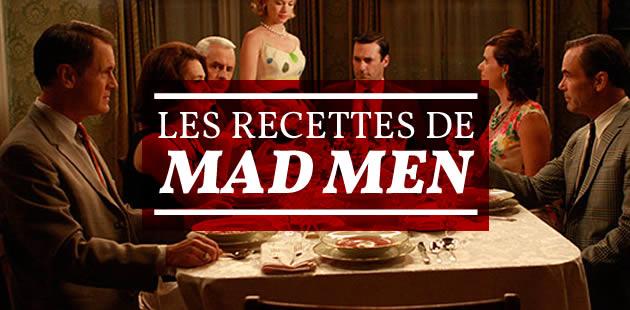 Les recettes de Mad Men