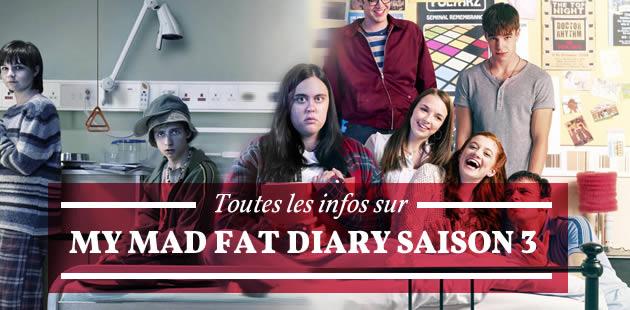My Mad Fat Diary saison 3 arrive à l'été 2015 !