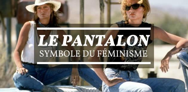 Le pantalon, symbole du féminisme
