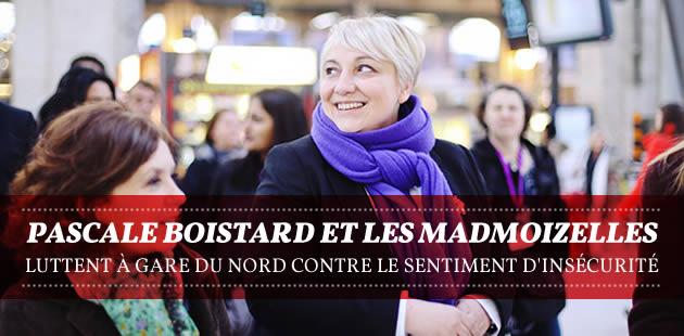 Pascale Boistard et les madmoiZelles luttent à gare du Nord contre le sentiment d'insécurité